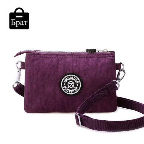 clutch bag women messenger bags casual mini crossbody bag for girls waterproof nylon ladies handbags female high quality - Hespirides Gifts - 1