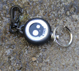 EDC Outdoor Steel Rope Burglar Keychain Stalker Soft Shell Tactical Retractable Key Chain, Key Return key ring Camping - Hespirides Gifts - 2