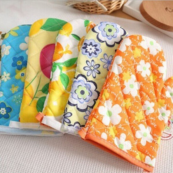 New Home Kitchen Microwave Oven Gloves Heat Proof Resistant Cooking Tools 1 Pcs