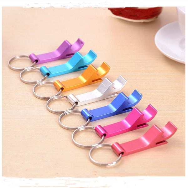 Mini Pocket Key Chain Beer Bottle Opener Claw Bar Small Beverage Key chain Ring Hot Sale New