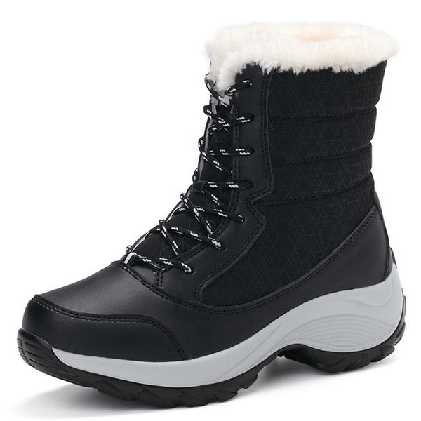 WDZKN 2016 snow boots Women s Shoes With Free Bluetooth audio receiver 91fcc0d44