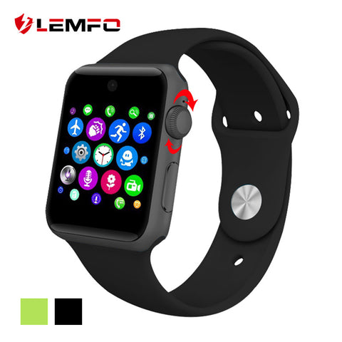 Lemfo LF07 Smart Watch With Free Digital Pedometer