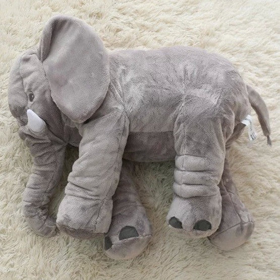 Elephant Soft Children Pillow Kids Calm Doll Toys Sleep Bed Car Seat Cushion Kids Portable Bedroom Decaration Bedding Stuffed