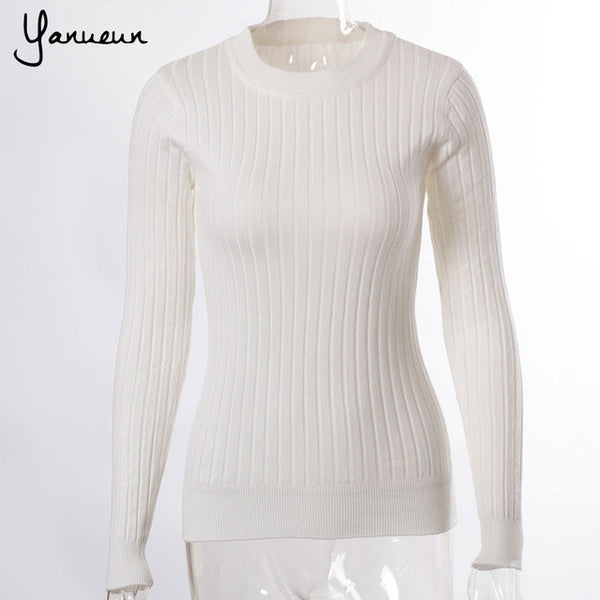 Colorful Apparel  Women  Sweaters And Pullovers Female Solid Wool Pullover Knitted Casual Oversized Pull Femme Sweater CA540