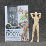 Boxed 10Style Archetype He Archetype She Ferrite SHFiguarts BODY KUN BODY CHAN Ver. PVC Action Figure Collectible Model Toy
