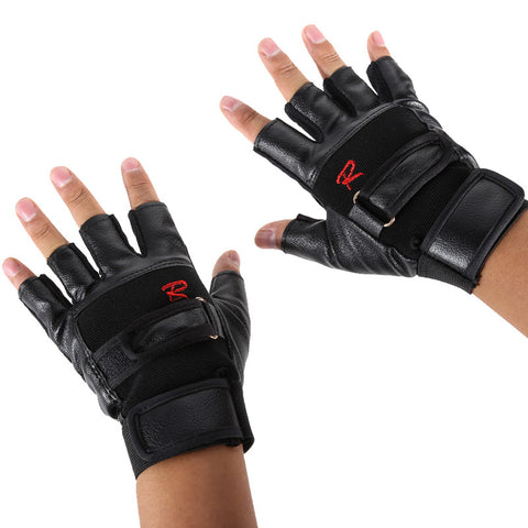 Pro Weight Lifting Gym Cycling Gloves Exercise Sport Fitness Sports Bike Leather Motorcycle Gloves BHU2 - Hespirides Gifts - 1