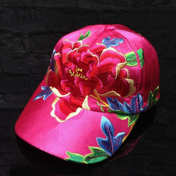 Novelty Floral Running Baseball Cap Women Hat Adjustable Polo Cap Snapback Unsex Hip Hop Caps Men 2016