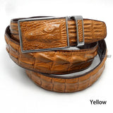 Hot Sale Men belts Luxury Genuine leather Crocodile designer Automatic Belt man buckle Real Cow skin Wide girdle for Jeans male