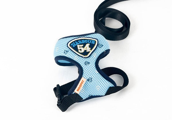 Pet Cat Harness Vest Leashes Suit Navy Blue Pet harness Pet Puppy Cat Harness Leashes for small cat pet