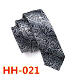 Hi-Tie Design Ties Slim Gravata Blue Skinny Tie Silk Jacquard Woven Neckties For Men Wedding Party Groom Free Shipping HH-244