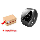 NEW M26 Bluetooth Smart Watch luxury wristwatch R watch smartwatch with Dial SMS Remind Pedometer for Android Samsung phone - Hespirides Gifts - 3