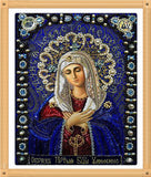 Wholesale DIY Diamond Paintings cross stitch Embroidery virgin hug Jesus Home Decoration Rhinestone Wall Stickers Needlework zx - Hespirides Gifts - 4