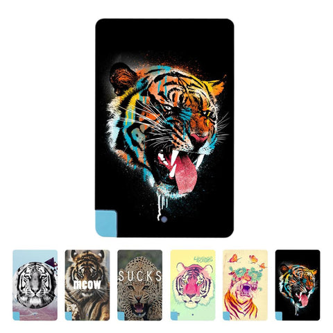 Colorful Tiger Leopard Figure Pattern Portable Ultra Thin Card 2600mAh Power Bank Battery Charger power For smart phone top sale - Hespirides Gifts