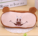 Kawaii Cartoon Animal Large Capacity Plush Pencil Holder Storage Pouch Cosmetic Bag Promotional Gift Stationery - Hespirides Gifts - 8