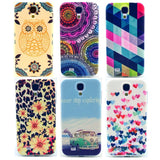 Fashion Leopard Soft Mobile Phone Cases for Samsung Galaxy S4 Case for Samsung S4 Cover i9500 Accessories RB0592 - Hespirides Gifts - 1