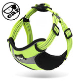 Padded Reflective Harness Soft Walk Vest Super Quality Strong Training Harness No Pulling for Small Medium dog