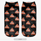 Women Socks Animal Different Patterns Fashion Hot sale Casual Cute Character Polyester Socks 3D Print Socks For