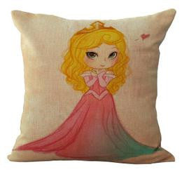 Wholesale 100% New Linen Cotton Princess Cushion Pillow on sofa for home decoration - Hespirides Gifts - 5