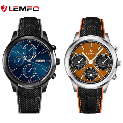Lemfo LEM5 Android Smart Watch With Free Digital Pedometer