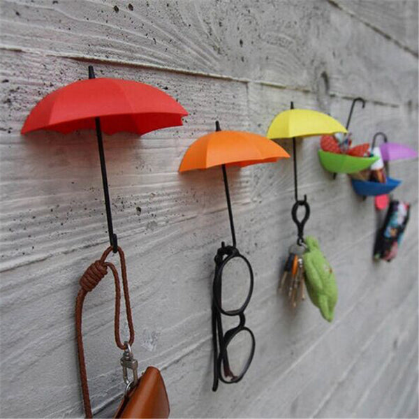 Key Holder Creative Classic Umbrella Key Hanger for Sundries Home decoration 3pcs/Lot Free Shipping