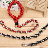 Hot Selling Dog Collar Adjustable Practical Pet Dog Chain Traction Rope Necklace Leash Training Leads Pet Supplies