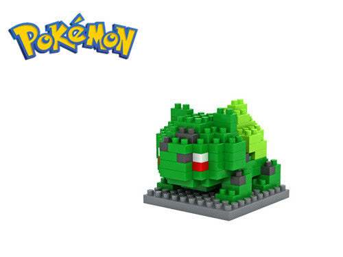 LOZ Pokemon Figures Model Toys Pikachu Charmander Squirtle Mewtwochild Snorlax Dragonite Lapras Diamond Building Blocks - Hespirides Gifts - 8