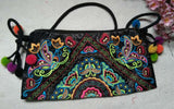 National Embroidered Bags Embroidery Unique Shoulder Messenger Bag Vintage Hmong Ethnic Thai Indian Boho Clutch Handbag 25 style - Hespirides Gifts - 2
