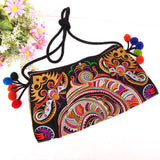 National Embroidered Bags Embroidery Unique Shoulder Messenger Bag Vintage Hmong Ethnic Thai Indian Boho Clutch Handbag 25 style - Hespirides Gifts - 15