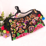 National Embroidered Bags Embroidery Unique Shoulder Messenger Bag Vintage Hmong Ethnic Thai Indian Boho Clutch Handbag 25 style - Hespirides Gifts - 14