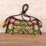 National Embroidered Bags Embroidery Unique Shoulder Messenger Bag Vintage Hmong Ethnic Thai Indian Boho Clutch Handbag 25 style - Hespirides Gifts - 11