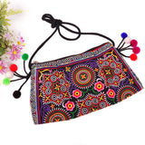 National Embroidered Bags Embroidery Unique Shoulder Messenger Bag Vintage Hmong Ethnic Thai Indian Boho Clutch Handbag 25 style - Hespirides Gifts - 24