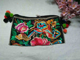 National Embroidered Bags Embroidery Unique Shoulder Messenger Bag Vintage Hmong Ethnic Thai Indian Boho Clutch Handbag 25 style - Hespirides Gifts - 21