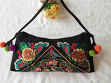 National Embroidered Bags Embroidery Unique Shoulder Messenger Bag Vintage Hmong Ethnic Thai Indian Boho Clutch Handbag 25 style - Hespirides Gifts - 4
