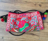 National Embroidered Bags Embroidery Unique Shoulder Messenger Bag Vintage Hmong Ethnic Thai Indian Boho Clutch Handbag 25 style - Hespirides Gifts - 8
