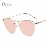 ROZA Sunglasses Women Hollow Vintage Steampunk Coating Lens Brand Designer Decorative Arrow Sun Glasses UV400 QC0460