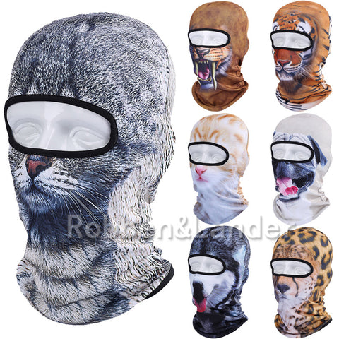 New 3D Animal Balaclava Hunting Outdoor Halloween Party Paintball Sport Hats Motorcycle Skiing Cycling Protection Full Face Mask - Hespirides Gifts - 1