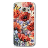 Phone Case for Samsung Galaxy S6 Hard Plastic Natural Scenery Pattern Flowers Printed Mobile phone bag - Hespirides Gifts - 4