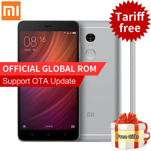 Xiaomi Redmi Note 4 Prime Mobile Phone With Free Cartoon Cable Protector