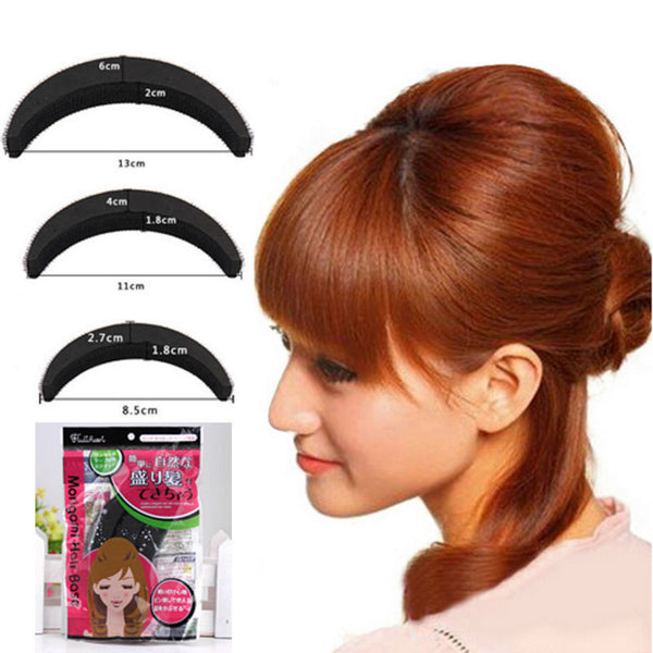 YouMap Sponge Hair Maker Styling Twist Magic Bun Hair Base Bump Styling Insert Tool Volume Y5R4