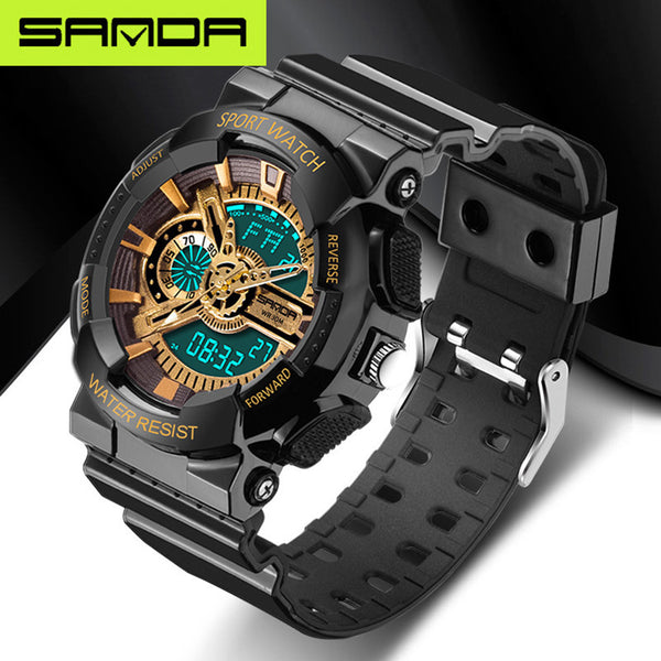 Buy new listing fashion watches men watch waterproof sport military G style S Shock watches men ...