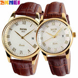 New Women Dress Watches,Watches Men Luxury Brand Fashion& Casual Lover couple Multi-Color Leather strap Relogio Feminino - Hespirides Gifts - 1