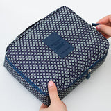 Neceser Rushed Floral Nylon Zipper New Women Makeup bag Cosmetic bag Case Make Up Organizer Toiletry Storage Travel Wash pouch - Hespirides Gifts - 3