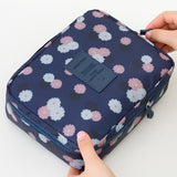 Neceser Rushed Floral Nylon Zipper New Women Makeup bag Cosmetic bag Case Make Up Organizer Toiletry Storage Travel Wash pouch - Hespirides Gifts - 9
