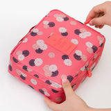 Neceser Rushed Floral Nylon Zipper New Women Makeup bag Cosmetic bag Case Make Up Organizer Toiletry Storage Travel Wash pouch - Hespirides Gifts - 16