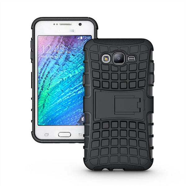 For Samsung J7 Cover Dual Layer Armor Silicone Hard Plastic Skin Holder Stand Case For Samsung Galaxy J7 Case J700F ] < - Hespirides Gifts - 4