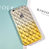 Luxury Bling Diamond Frame Transparent TPU Phone Case For Iphone 6 6S 4.7 inth Soft Silicone Protective Cover Cases - Hespirides Gifts - 4