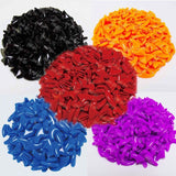 New fashion Solid Color 100pcs/lot Cat  Nail Caps cat soft Claw  cat Paws  with 5*Adhesive Glue  4 cat size