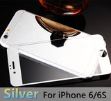 For apple iPhone 4 4s 5 5s 6s 6Plus Plus case 2.5D Screen Protector Metal Plating Mirror Premium Tempered Glass Full Cover Film - Hespirides Gifts - 17