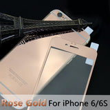 For apple iPhone 4 4s 5 5s 6s 6Plus Plus case 2.5D Screen Protector Metal Plating Mirror Premium Tempered Glass Full Cover Film - Hespirides Gifts - 6