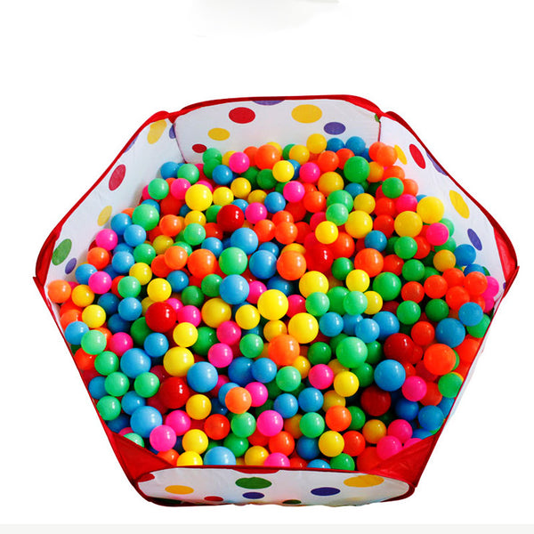 Funny gadgets Eco-Friendly Ocean Ball tent pit pool BOBO Ball tent Folding (balls no inlcude ) Children baby toy game Play House - Hespirides Gifts